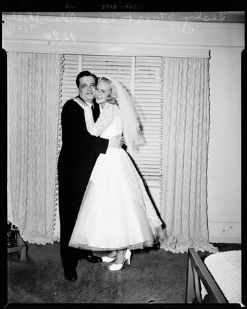 Louella Parson exclusive (wedding), 1951