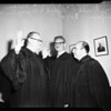 New judge of Municipal Court, 1952