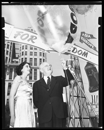 Crusade for Freedom, city hall, 1951
