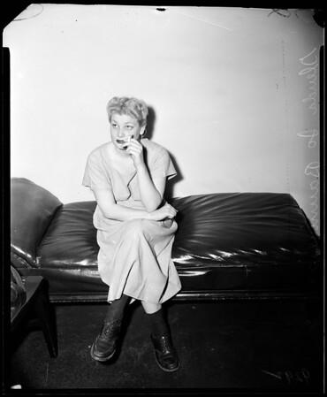 Marijuana suspect, 1951