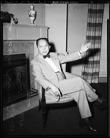 Interview -- Town House, 1951