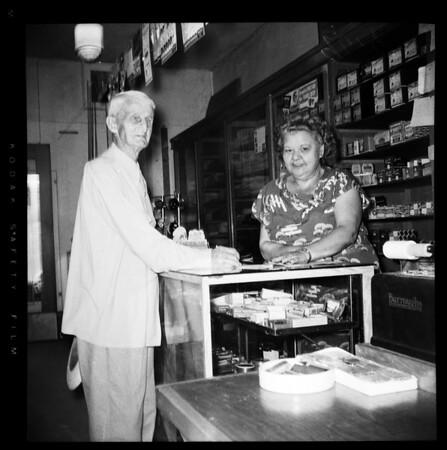 Oildale near Bakersfield, 1952