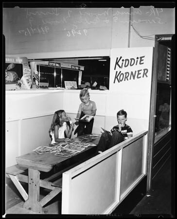 Kiddie Korner, Pasadena, 1951
