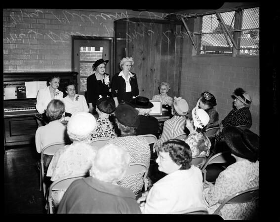 Grandmothers Club, Hollywood, 1952