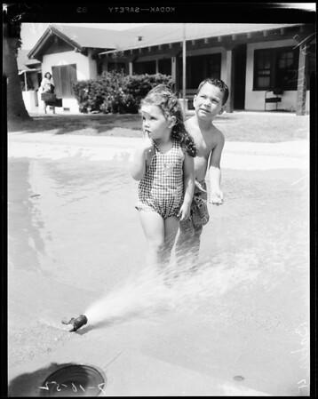 Salvation Army Camp, Redondo Beach, 1952