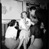 Rose Queen engaged -- Pasadena, 1951