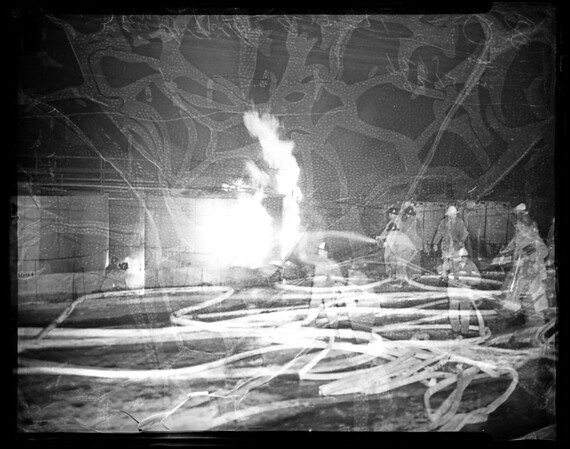 Signal Hill oil fire, 1951