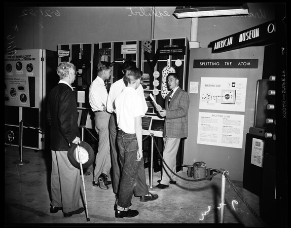 Atomic exhibition, 1954