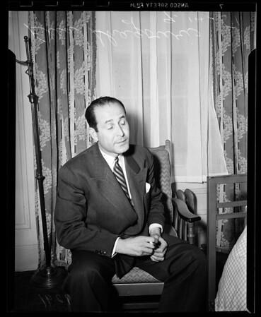 Interview.....Biltmore, 1951