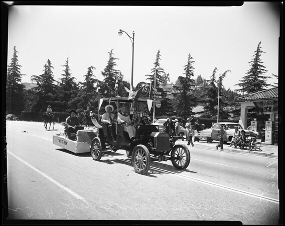 Newhall fourth celebration and parade, 1952