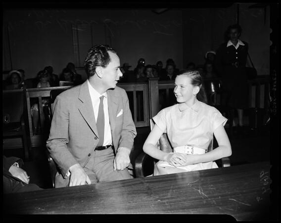 Lindstrom (custody), 1952