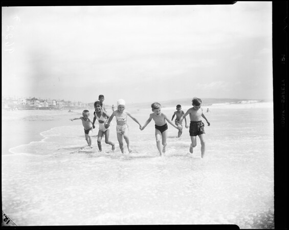 Volunteers of America Camp (El Porto beach near Manhattan), 1952