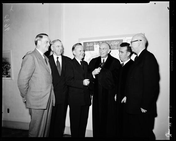 Methodist church bishops, 1952