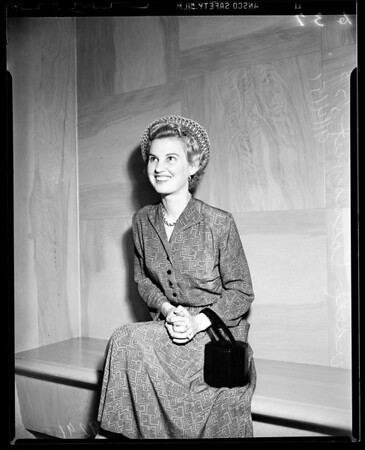 Cornsweat Divorce Trial, 1951