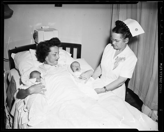 Twins, Saint Vincent Hospital, 1951