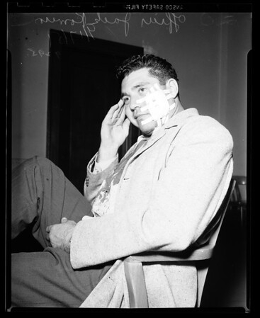 Cop stabbed, 1951