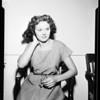 Apartment house burglar suspect, 1951
