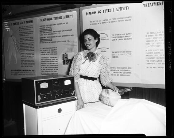 Atomic energy (Van de Graff Generator), 1952