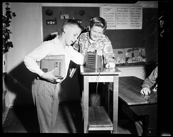School at home, 1954