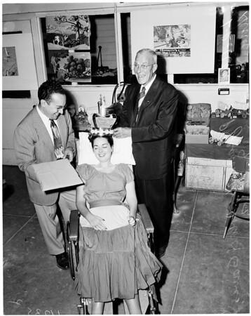 Rancho Los Amigos Swap Meet, 1954