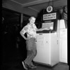 Kid flies to Los Angeles for 25 cents, 1952