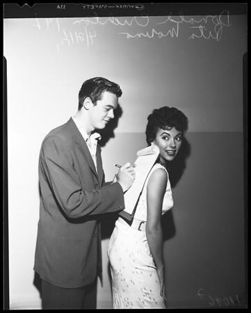 Don Crichton movie contract, 1954