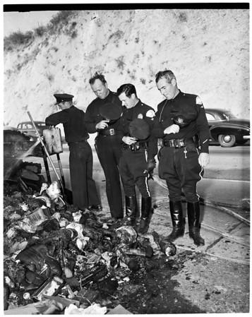 Carnival trailer fire, 1951