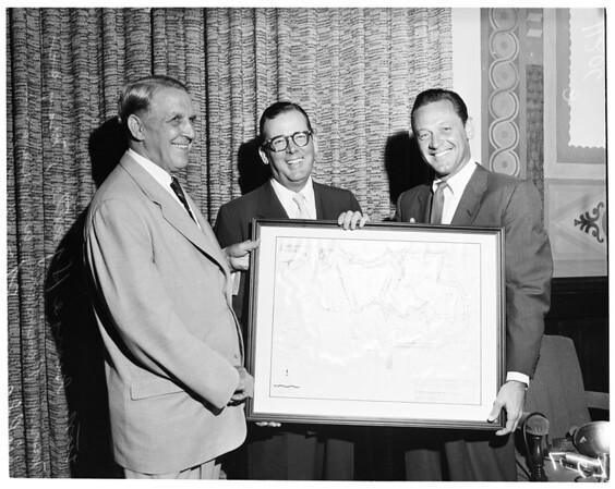 Sepulveda Dam Recreation Plan, 1954