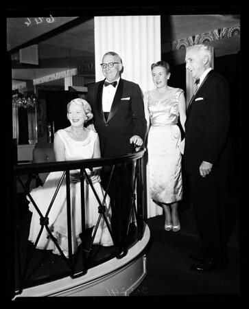 Party -- Stock Exchange, 1957