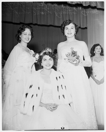 Black and White Ball Queen, 1951