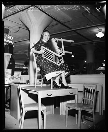 Furniture Mart Exhibit, 1955