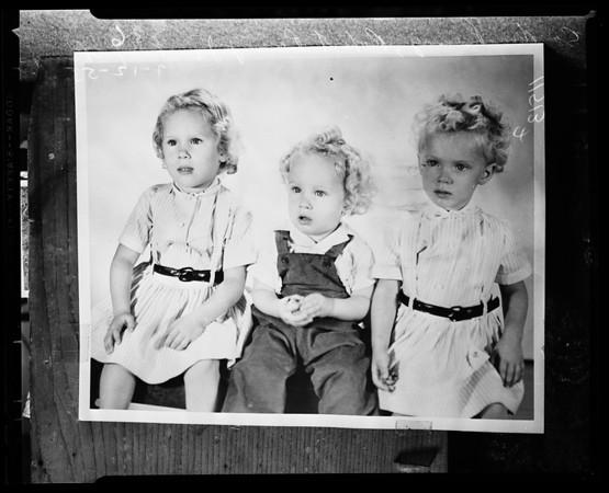 Missing child (found), 1955