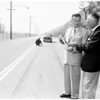 Traffic slide rule (determines speed of auto from skids), 1952