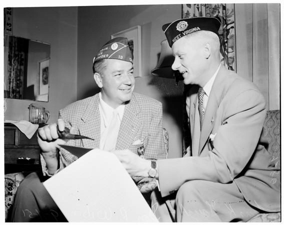 American Legion's convention, San Diego, 1951
