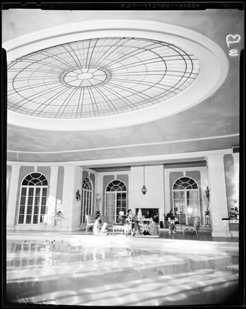 Stanford Women's Club, Pasadena, 1957