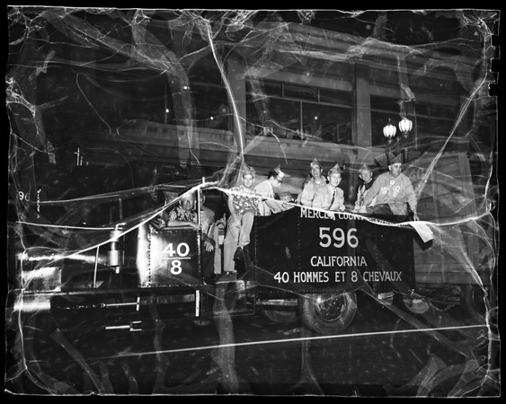 American Legion convention parade, San Diego, 1951