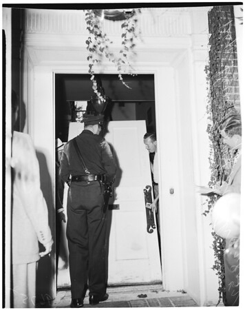 Writ of possession, 1952