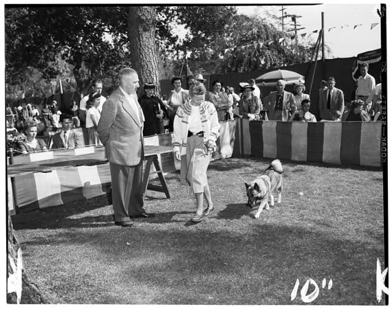 Pasadena Dog Show, Altadena, 1952