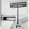New link of Hollywood Highway, 1951