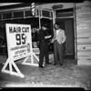 Barber shop bomb, 1954