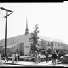 Latter Day Saints Church dedication (11022 Riverside Drive), 1952