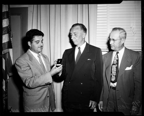 School board (Short Hand Awards), 1952