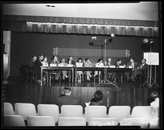 Brainstorming session, 1957