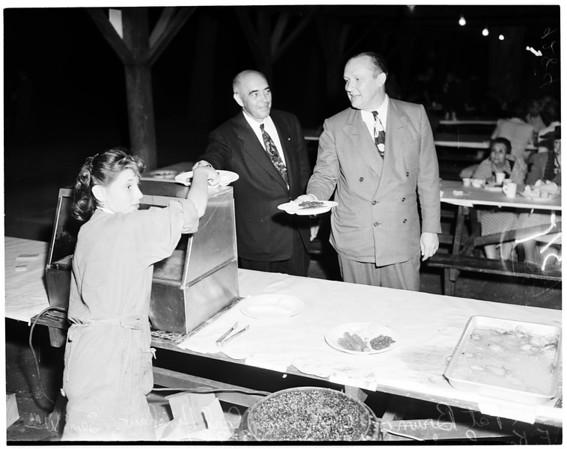 Pasadena Republican Club picnic, 1951