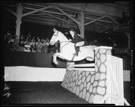 Los Angeles International Horse Show (opening) at Pan Pacific Auditorium, 1951