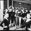 Ballet rehearsal at Greek Theater, 1957