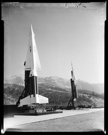 Missiles-Nike-Hercules and Nike-Ajax, 1958