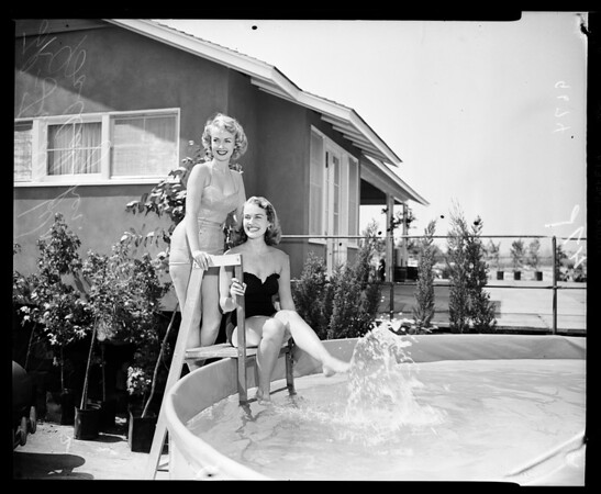 Home show, Hollywood Park, Inglewood, 1952