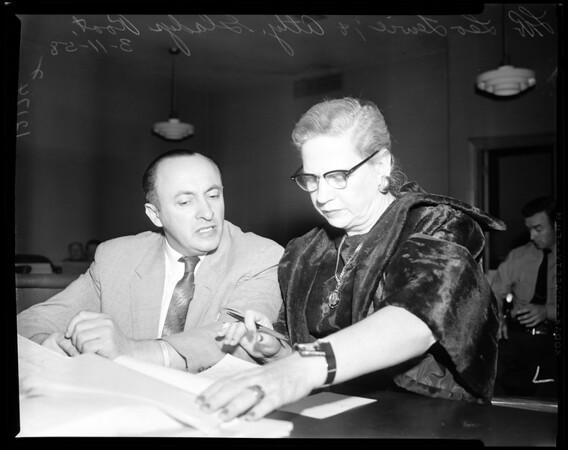 Leo Lewie trial, 1958