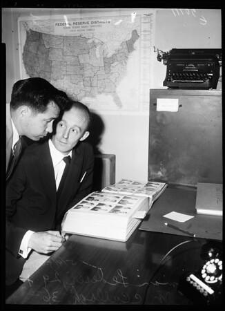 Bank hold up (El Monte), 1954